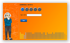 Online math assignments. Arithmetic and algebra mathematics skills